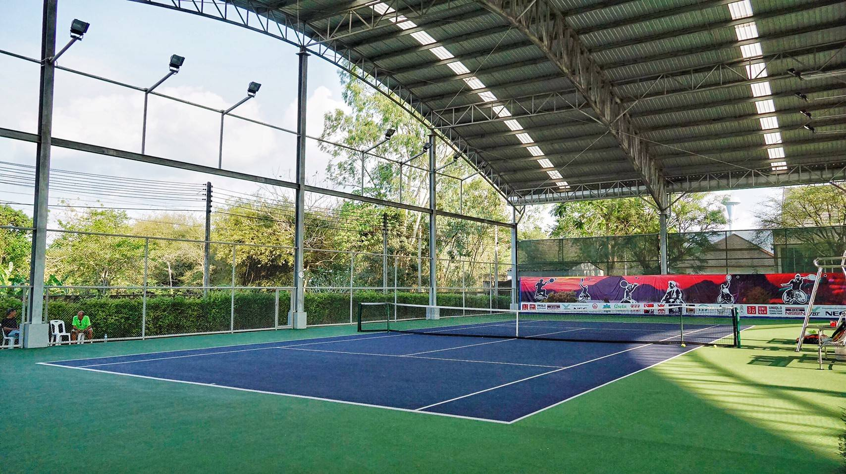 /LUXURIOUS TRAINING FACILITIES